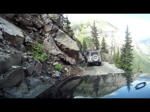 Colorado Off Road >> Part #1 Black Bear Pass - The Steps and Switch Backs - Telluride Colorado - YouTube
