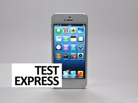 apple iphone 5 16go blanc au meilleur prix sur. Black Bedroom Furniture Sets. Home Design Ideas