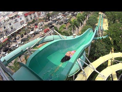 Speed Water Slide at Waterbom Jakarta