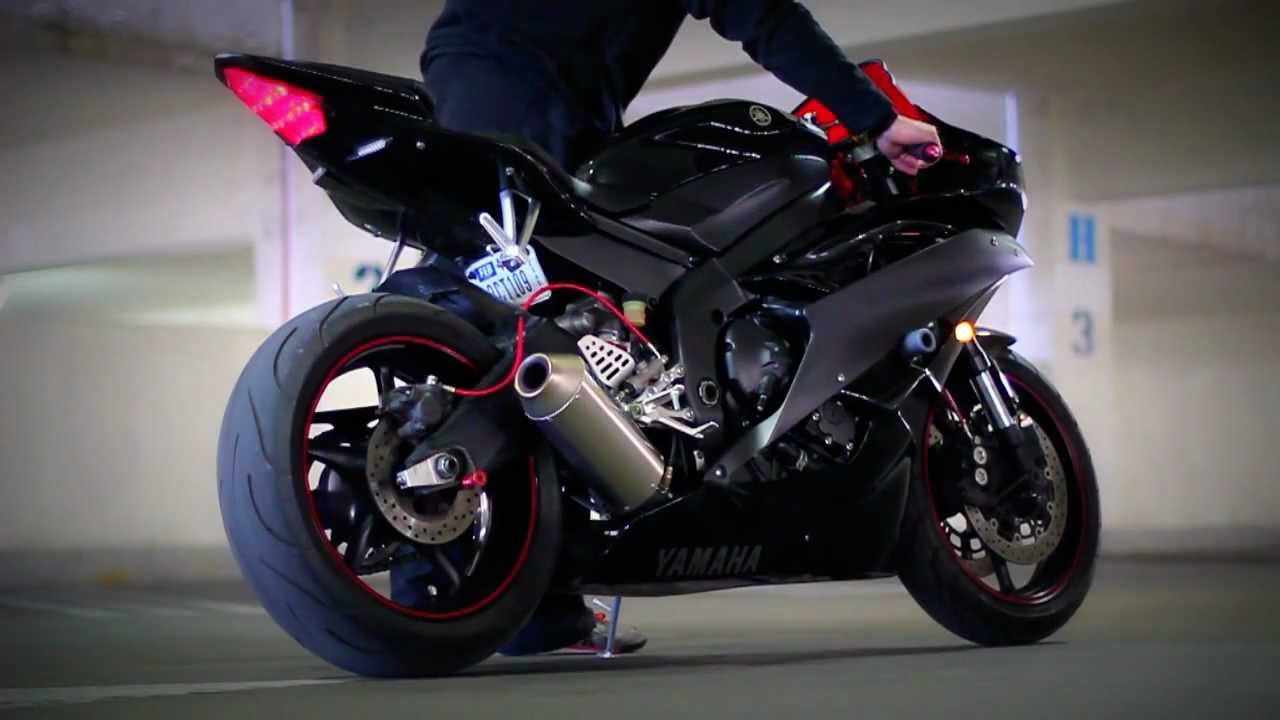 Tiforce Full Exhaust 2006 Yamaha R6 Parking Garage Youtube
