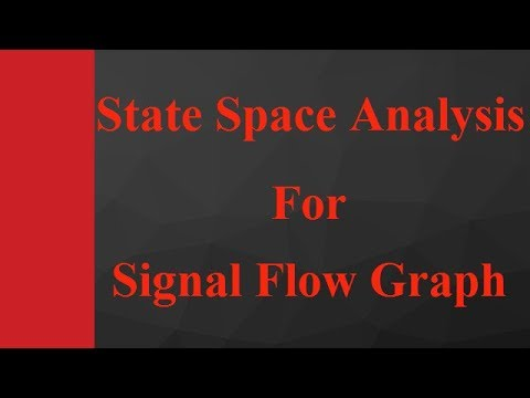 2 - State Space Analysis for Signal Flow Graph Example in Control Engineering by Engineering Funda