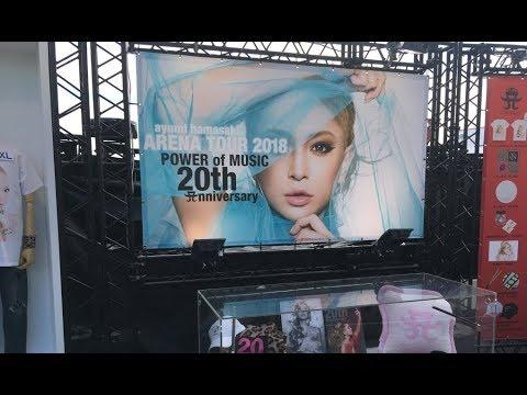 ayumi hamasaki ARENA TOUR 2018~POWER of MUSIC  ( set list )