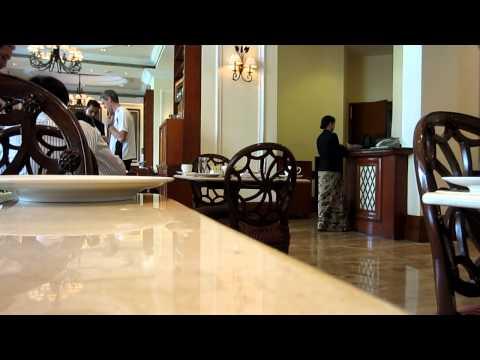 Breakfast at Hotel Eros in New Delhi, India