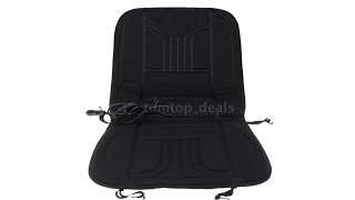 Universal 12V Car Heated Seat Cushion Hot Cover Mat Winter Heating Warmer - Test