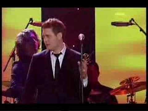 Michael Buble sings It Had Better Be Tonight (LIVE)