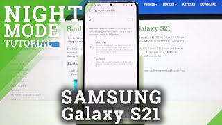 Eye Comfort Shield on Samsung Galaxy S21 - Eye Saver Mode in Android OS