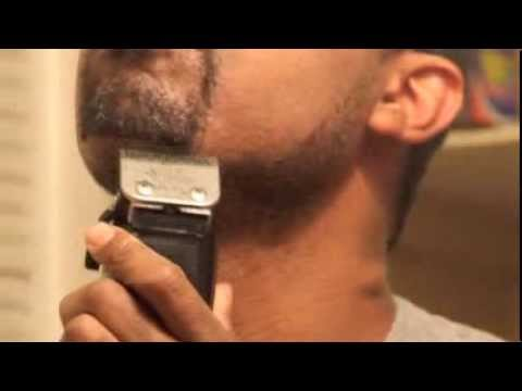 beard and mustache trim with regular hair clippers youtube. Black Bedroom Furniture Sets. Home Design Ideas