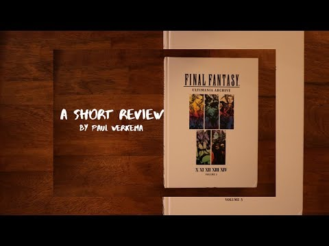 A Short Review -- Final Fantasy Ultima Archive Volume 3