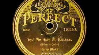 Roaring Twenties: Sam Lanin - Yes! We Have No Bananas, 1923