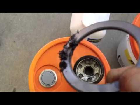 Kubota Hydraulic System/Transmission oil change