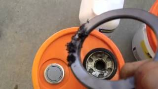 Kubota Hydraulic System/Transmission oil change