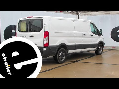 etrailer | Trailer Hitch Installation - 2016 Ford Transit T250