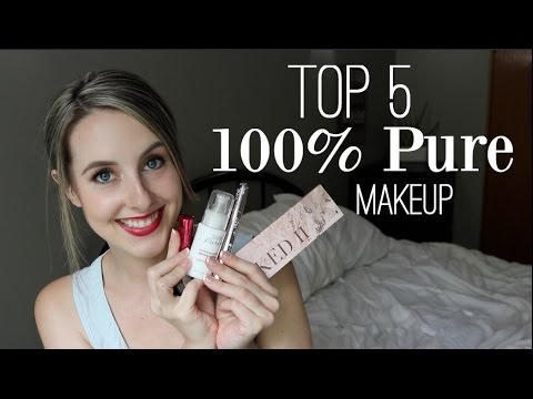 100% Pure Cosmetics Review- My Top 5! ♡ NaturallyThriftyMom