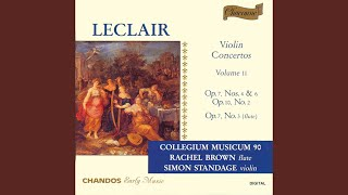 Violin Concerto in A Major, Op. 7, No. 6*: III. Giga: Allegro