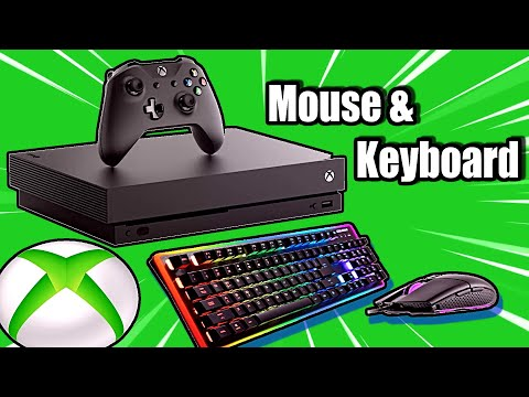 How To USE A MOUSE And KEYBOARD On XBOX ONE With USB HUB (NO ADAPTERS)(100 % WORKS)