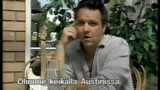 Jimmie Vaughan - D/FW , Finland 1997 ( Jimmie talks about younger days of himself and Stevie Ray )