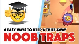 King of Thieves - SIX NOOB TRAPS