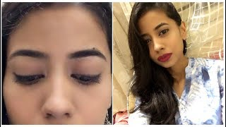 How i Grew Thick Brows Naturally.!! #eyebrowsonfleek 💁🏻