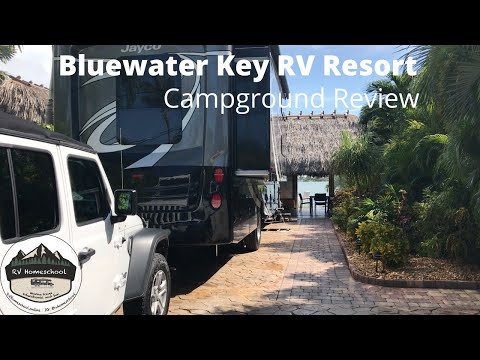 bluewater-key-rv-resort-with-kids-and-a-dog