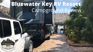 Bluewater Key RV Resort with kids and a dog