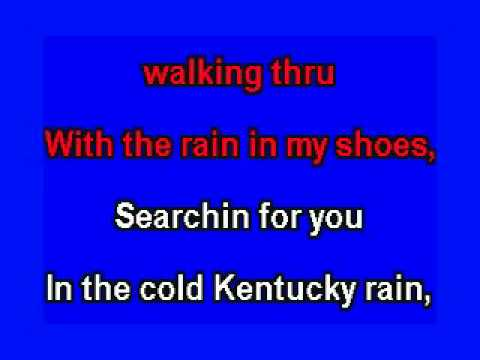 ELVIS KARAOKE KENTUCKY RAIN