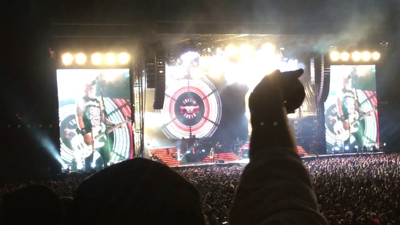 guns n 39 roses live 2017 paradise city vancouver bc place 09 01 17 youtube. Black Bedroom Furniture Sets. Home Design Ideas