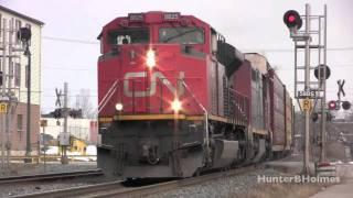 Train Compilation & Music Video