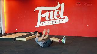 Everyday Fitness: For rock-hard abs with Fuel Athletics trainer Hawari Farihin