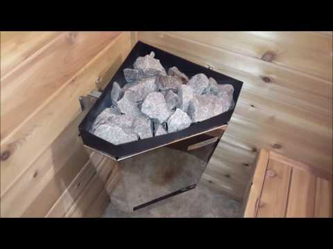 Turn a SHED into a SAUNA!  Sauna build basics