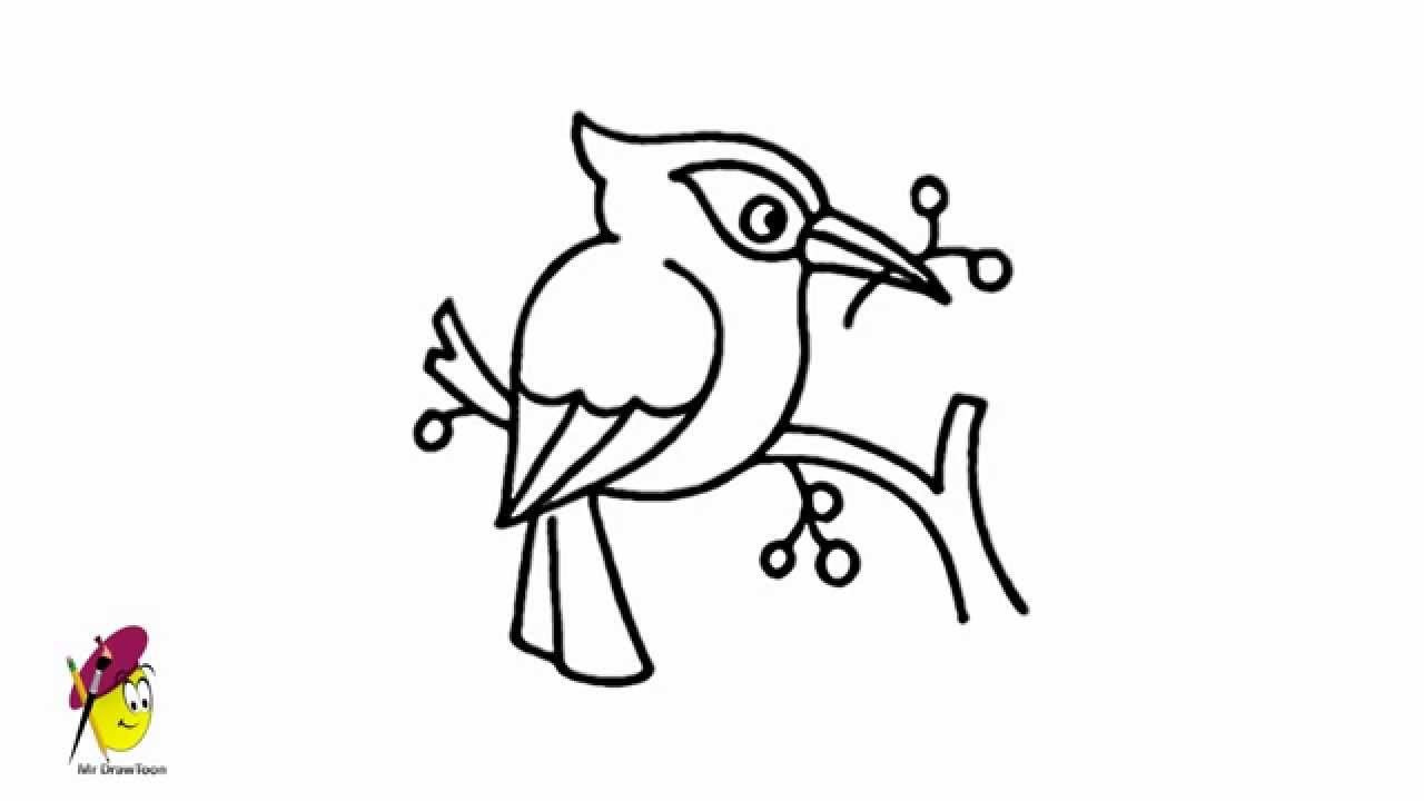 Kingfisher How To Draw A Bird How To Draw A Kingfisher Youtube