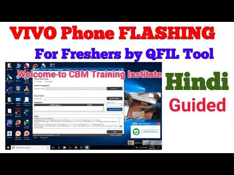 Vivo Qualcomm Flashing by Qfil Tool