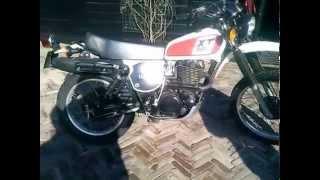 Yamaha XT 500 1978 Sound!