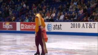 Madeline Heritage & Nathaniel Fast Bollywood Indian Ice Dance