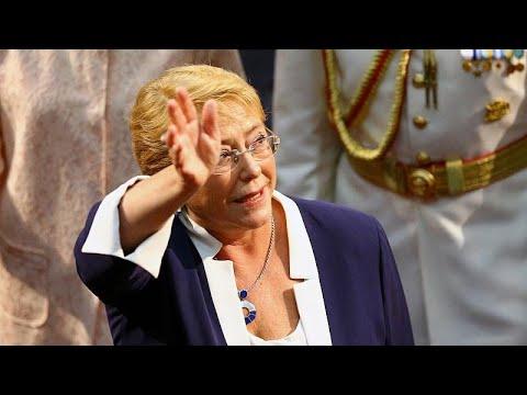 تعيين رئيسة تشيلي السابقة مفوضاً لحقوق الإنسان  - 22:21-2018 / 8 / 10