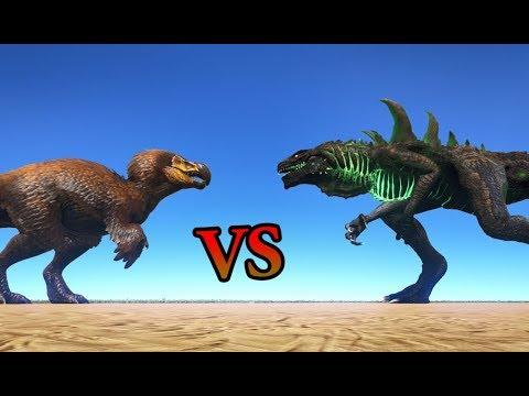 DodoRex VS Godzillark || ARK: Survival Evolved || Cantex