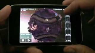 Ngmoco Star Defense iPhone App - In-game Video  |  dailymobile.se