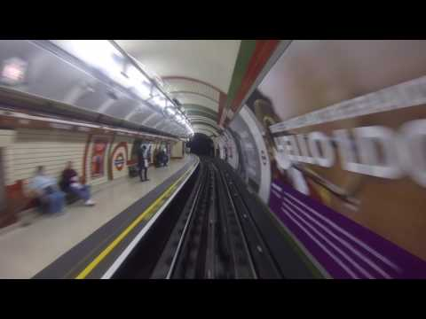 Bakerloo Line Cab Ride Lambeth North - Harrow & Wealdstone