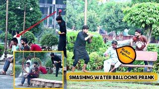 Water Balloon Fight Prank In Faisalabad Pakistan | Throwing Water Balloons Prank