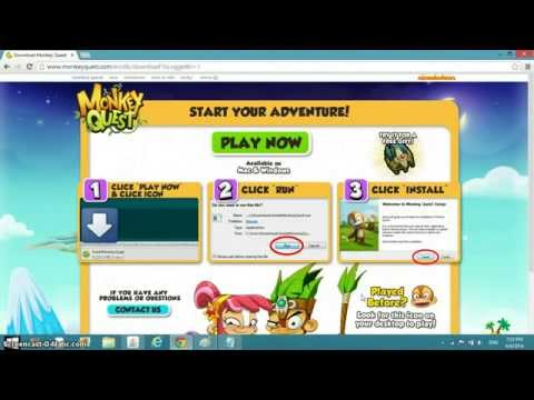 how to play monkey quest 2016