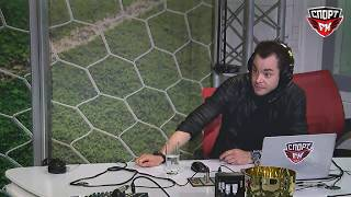 Актер Сергей Чирков в гостях у Спорт FM