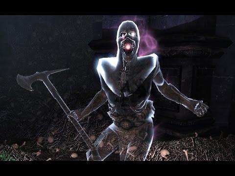 Skyrim - Soul Cairn, Reaper Gem Gragments, Reaper's Lair, And Reaper Boss (FULL WALKTHROUGH)