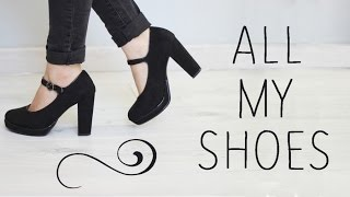 all my shoes ma collection chaussures