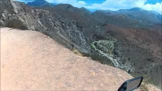 Visitando Argentina (48) - Sergio Galleguillo - La Rioja - Honda CG 150 - Go Pro - Ruta Nacional 40