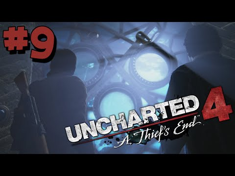 Uncharted 4 Walkthrough Part 9 HD - PIRATES CAVE