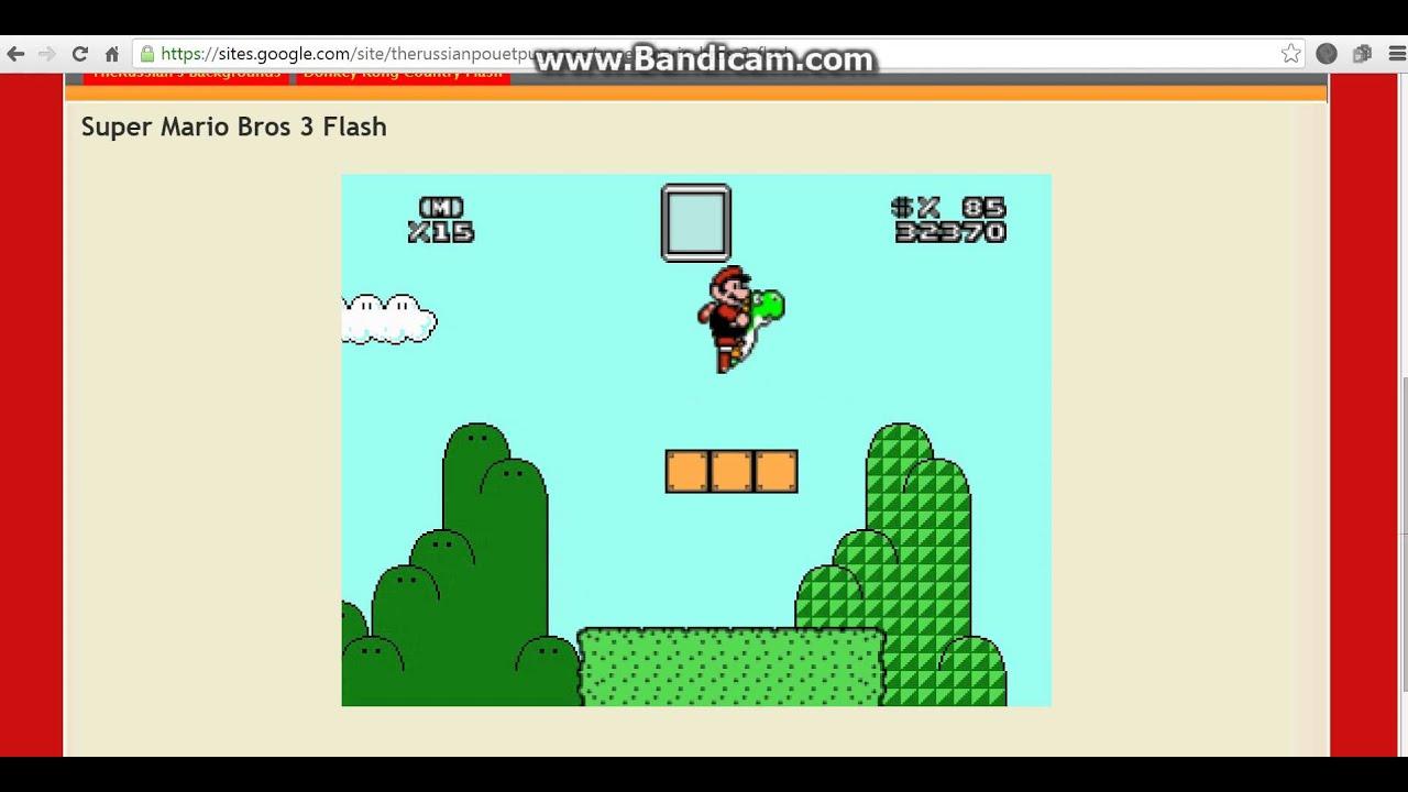 Super Mario Bros 3 Flash