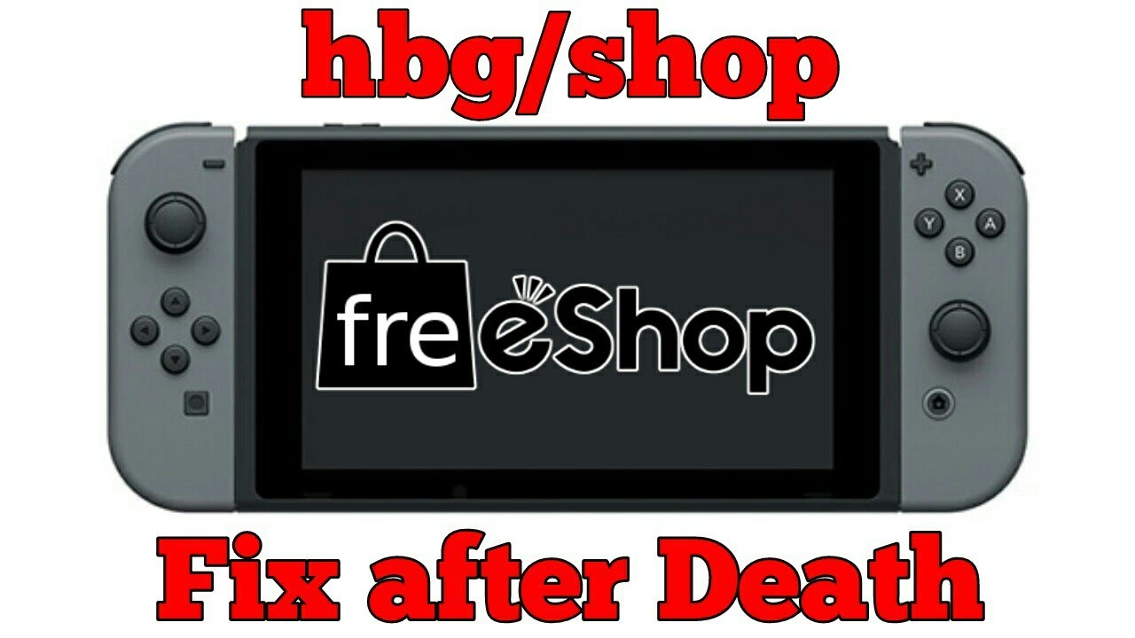 Switch FreeShop: How to fix