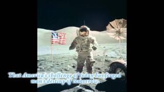 The Best Speech on the Moon by Gene Cernan