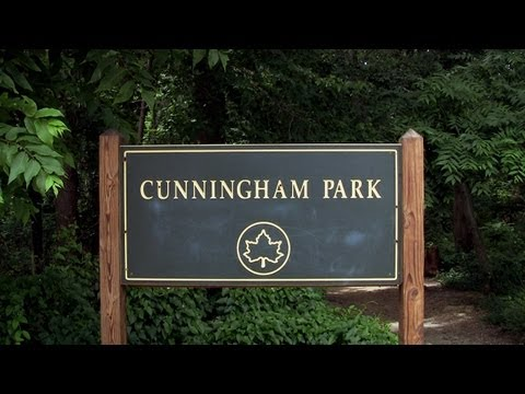 Cunningham Park (NY) bike trail review in HD