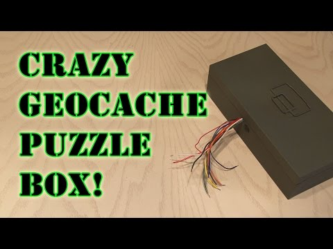 Crazy Geocache Puzzle Box!