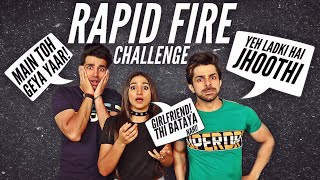 RAPID FIRE Challenge | Rimorav Vlogs